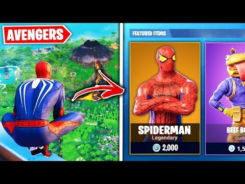 Top 10 Fortnite AVENGERS SKINS THAT NEED TO BE RELEASED!
