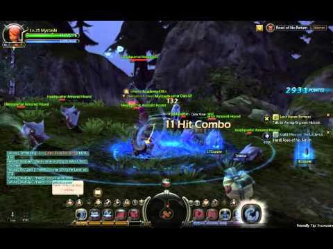 Dragon Nest Kali (Dancer 2nd job) Dungeon Master Mode