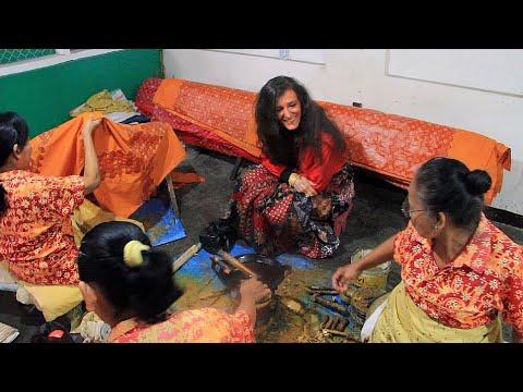 'Aux couleurs du batik' : Carnet de voyage de Nicole Coppey