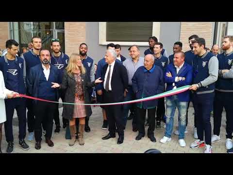 Fortitudo, l'inaugurazione della nuova sede