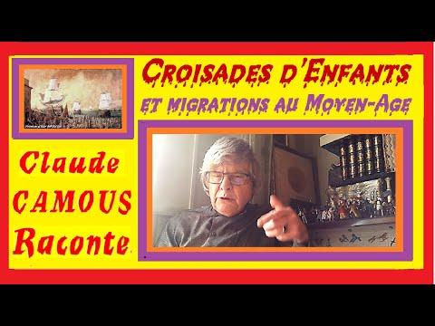 Croisades d'Enfants : « Claude Camous Raconte » les migrations humaines et  animales au Moyen-Age.