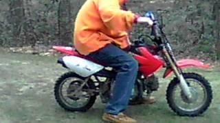 7. 2004 Honda Crf 50 Coldstart