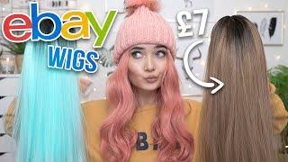 Video I BOUGHT EBAY WIGS UNDER £10! IM SHOOK MP3, 3GP, MP4, WEBM, AVI, FLV Januari 2019