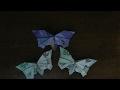 Origami kupu kupu dari uang kertas