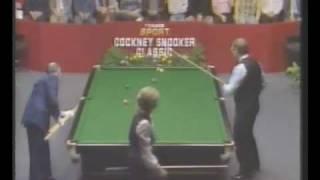 Impossible Snooker Shot By Allison Fisher V Dennis Taylor