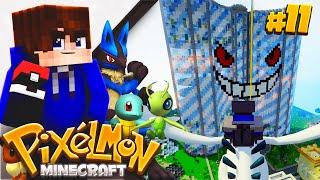 CHALLENGING TEAM DAYBREAK!! | Minecraft Cube PIXELMON! #11