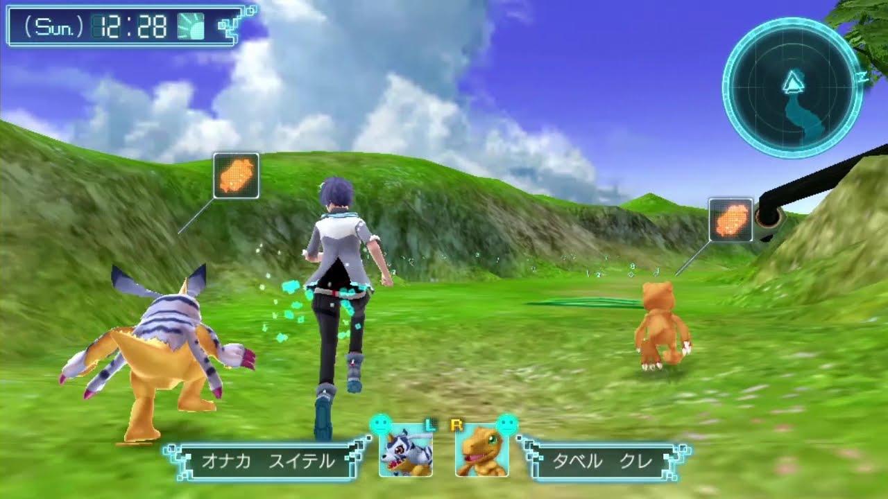 ตัวอย่างเกม Digimon World: Next Order