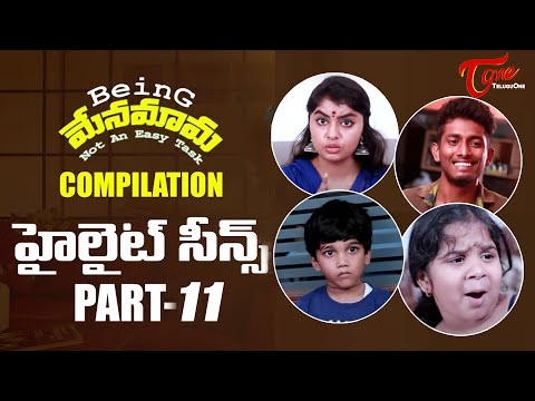 Best of Being Menamama | Telugu Comedy Web Series | Highlight Scenes Vol #11 | Ram Patas | TeluguOne