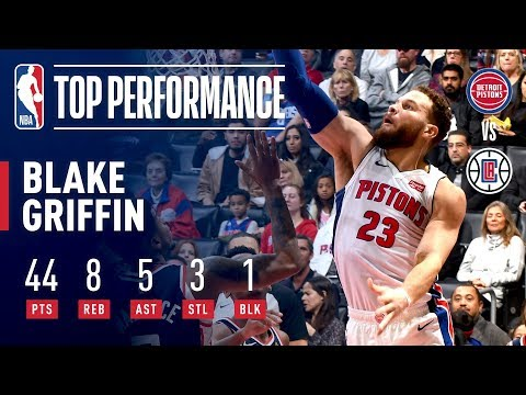 Video: Blake Griffin (44 Points) Takes Over In His Return To LA | January 12, 2019