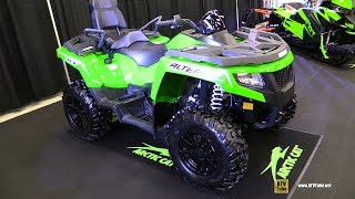 9. 2018 Arctic Cat Alterra TRV 700 XT Recreational ATV - Walkaround - 2017 Drummondville ATV Show