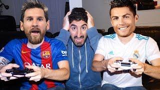 Video RONALDO PLAYS FIFA 18 WITH MESSI | Footy Friends MP3, 3GP, MP4, WEBM, AVI, FLV September 2018