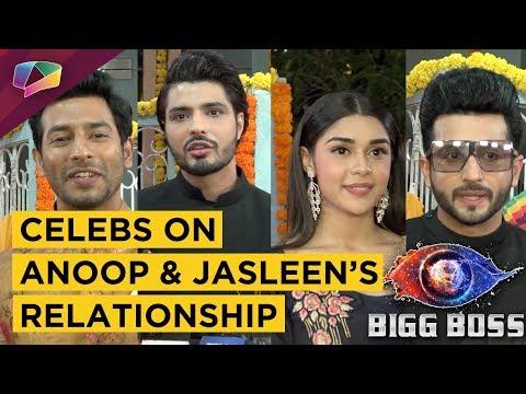 Celebrities REACT To Anoop Jalota And Jasleen Math