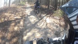 5. 06 Yamaha Blaster special edition Trail riding