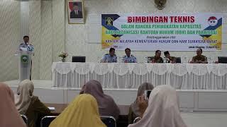 Laporan Penyuluh Hukum Kantor Wilayah Hukum dan HAM Provinsi Sumatera Barat MAINOFRI. SH. MH