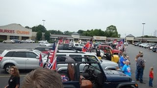 Statesville (NC) United States  city images : Statesville, NC Confederate Flag Rally Convoy Part 1