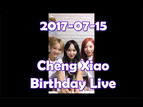 Video 170715 WJSN Cheng Xiao 샤오- 19 years old Birthday Live [ENG sub] (FULL ver) (UPDATED) download in MP3, 3GP, MP4, WEBM, AVI, FLV January 2017