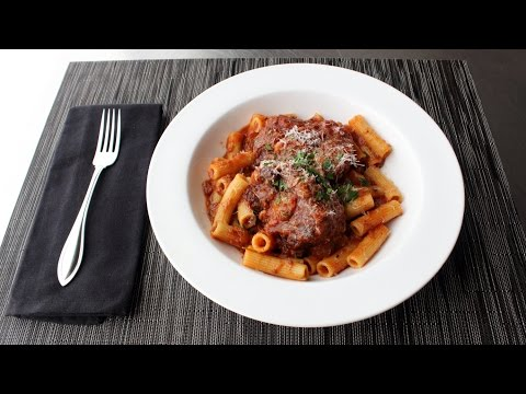 Oxtail Ragu Recipe - How to Make Pasta Sauce with Oxtails