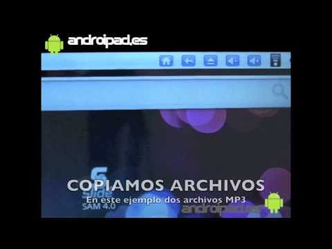 ANDROIPAD TABLET PC - Cómo conectar al PC