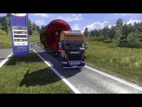 Euro Truck Simulator 2 Overweight Trailer