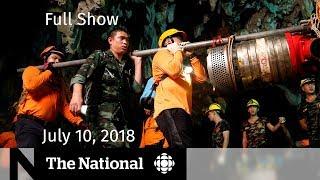 Video The National for July 10, 2018 — Thai Cave Rescue, NATO, Humboldt Broncos MP3, 3GP, MP4, WEBM, AVI, FLV Juli 2018