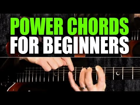 Beginner's Guitar Lesson on Power Chords