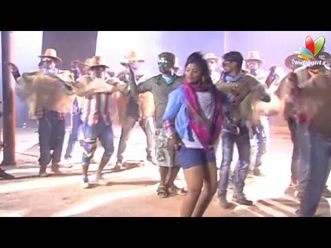 Style-Raja-Hot-Song-Making-Kannada-Movie