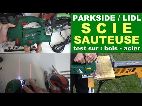 parkside scie sauteuse pstd 800 a1 lidl : test + présentation