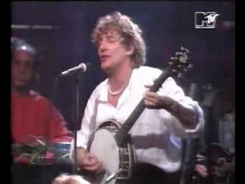 Rod Stewart & Ron Wood – Mandolin Wind