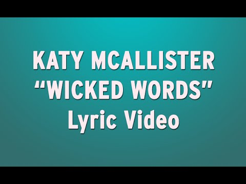 "Mcallister - Wicked Words"" from my new album"