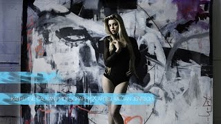 Video Fashion Photo Shoot by Katherine Calnan Photography with Art from Megan Jentsch at Voltage Garage MP3, 3GP, MP4, WEBM, AVI, FLV Juni 2018