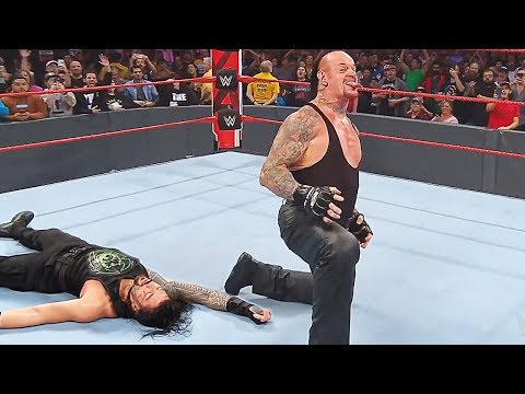 The Undertaker Returns To SAVE Roman Reigns On WWE Raw!