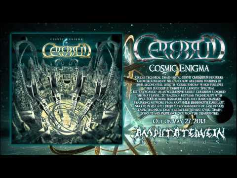 Cerebrum - Greek technical death metal outfit CEREBRUM features George Kollias of NILE, and now are here to bring up their second full length