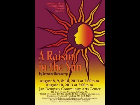 analysis 3 a raisin in the A raisin in the sun is a play in three acts it takes place entirely in the younger  family's apartment in chicago's south side ghetto, adhering to the classical unity .