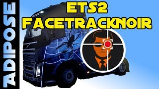 Euro Truck Simulator 2 с программой FaceTrackNoir