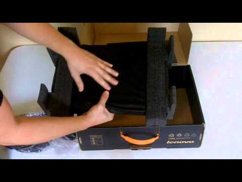 Unboxing the Lenovo IdeaPad Y570 Laptop