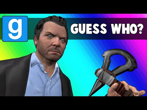 Gmod Guess Who Funny Moments - Invading Michael's House! (garry's Mod)