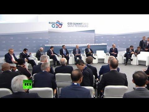 Прямая трансляция пресс-конференции Владимира Путина на саммите G20