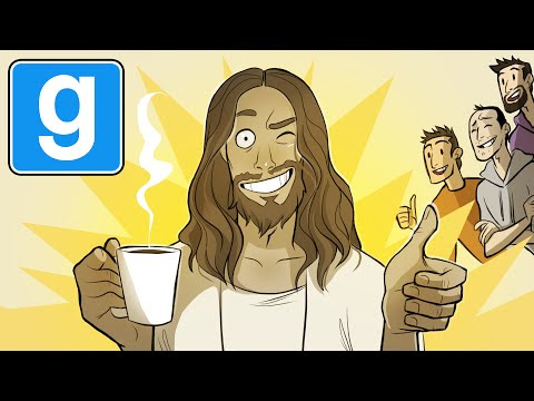 Jesus - The crew debate Jesus' love for coffee. I'm playing Garry's Mod Trouble In Terrorist Town with the magnificent Hat Films, the ever-loud Turps, the scheming Lewis and my good bud Sjin! If you...