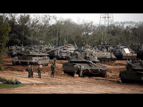 Ισραηλινές δυνάμεις στα σύνορα Ισραήλ-Γάζας