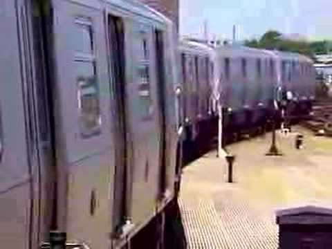 MustangFan424 - This is a video I took of a R160B N Train Entering Stillwell Ave.