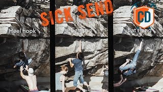 Bat Hang, Heel Hook Or Campus...Which Method Is Best? | Climbing Daily Ep.1250 by EpicTV Climbing Daily
