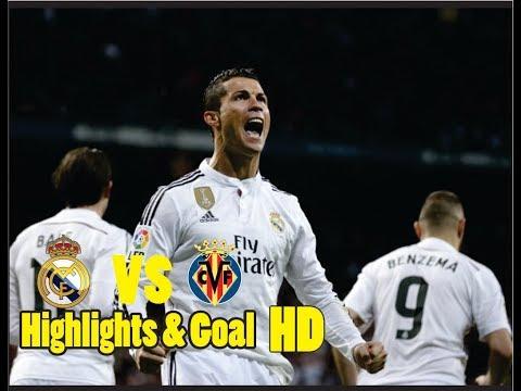 Real Madrid VS Villarreal Highlights & Goal Moment (13/1/2018) HD La Liga