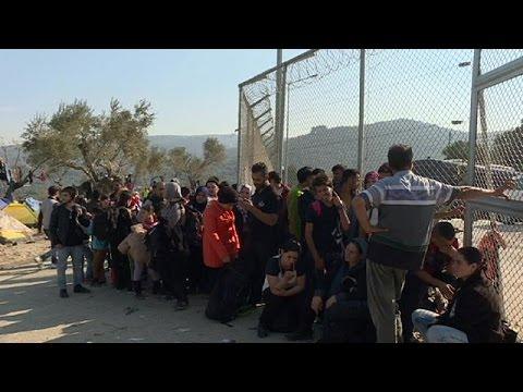 Μόρια και Καρά Τεπέ: Το euronews στα κέντρα καταγραφής στη Λέσβο
