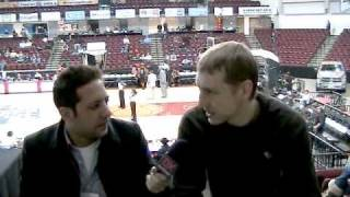 Yaroslav Korolev Interview (Part 1) - 2010 D-League Showcase