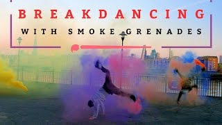 "London Videographer Ali Kubba films and directs ""Breakdancing with Smoke Grenades"""