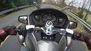 3. 2012 Can am Spyder RT-S Test Drive review