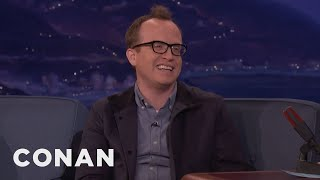 """Chris misinterpreted the situation when a couple on the street asked him to """"take a picture.""""More CONAN @ http://teamcoco.com/videoTeam Coco is the official YouTube channel of late night host Conan O'Brien, CONAN on TBS & TeamCoco.com. Subscribe now to be updated on the latest videos: http://bit.ly/W5wt5DFor Full Episodes of CONAN on TBS, visit http://teamcoco.com/videoGet Social With Team Coco:On Facebook: https://www.facebook.com/TeamCocoOn Google+: https://plus.google.com/+TeamCoco/On Twitter: http://twitter.com/TeamCocoOn Tumblr: http://teamcoco.tumblr.comOn YouTube: http://youtube.com/teamcocoFollow Conan O'Brien on Twitter: http://twitter.com/ConanOBrien"""