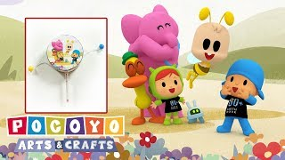 Pocoyo português Brasil - HORA DO PLANETA Pocoyo Arts & Crafts: Tambor  Desenhos animados