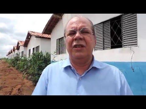 Desperdício de recursos federais em Governador Luiz Rocha (14/01/2016)