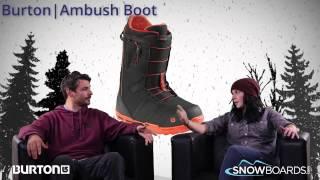 9. 2015 Burton Ambush Mens Boot Overview by SnowboardsDOTcom